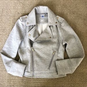 Adidas Originals Cotton Moto Jacket